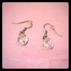 Accessories - Clear dangle earrings